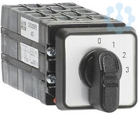 Переключатель 4-х поз. OMSO33PB 3ур. 10А ABB 9CNB022533R1510 купить в интернет-магазине RS24