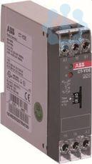 Реле времени CT-YDE (0.1-10с) 24В A C/DC 220-240В AC 1ПК ABB 1SVR550207R1100 купить в интернет-магазине RS24