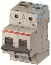 Выключатель автоматический модульный 2п C 63А 20кА S802N ABB 2CCS892001R0634 купить в интернет-магазине RS24