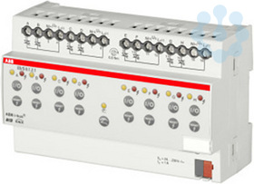 Активатор 8-кан. для термоэлектрич. приводов ES/S 8.1.2.1 1А MDRC черн. ABB 2CDG110059R0011 купить в интернет-магазине RS24