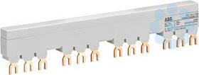 Разводка шинная 3ф PS1-4-1-100 до 100А для 4-х авт. типа MS116 MS132 с 1-м доп. конт. ABB 1SAM201916R1114