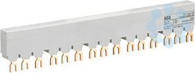 Разводка шинная 3ф PS1-5-0-100 до 100А для 5-и авт. типа MS116 MS132 без доп. конт. ABB 1SAM201916R1105