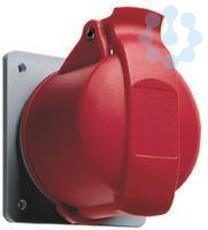 Розетка панельная 32А 3P+E с прямым унифицир. фланцем IP44 ABB 2CMA193250R1000 купить в интернет-магазине RS24