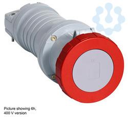 Розетка кабельная 63А 2P+E IP67 ABB 2CMA166876R1000 купить в интернет-магазине RS24
