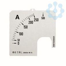 Шкала для амперметра SCL 1/500А A1 ABB 2CSM110299R1041 купить в интернет-магазине RS24