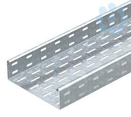Лоток листовой перфорированный 100х60 L3000 сталь 1мм MKS 610 FS OBO 6055109 купить в интернет-магазине RS24