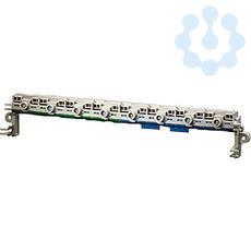 Клемма FIXCONNECT втычного исполнения для боксов KV по 18мод. PE+N 4х25кв.мм 16х4кв.мм с разделяемой шиной N KV FC 18 HENSEL 61000730 купить в интернет-магазине RS24
