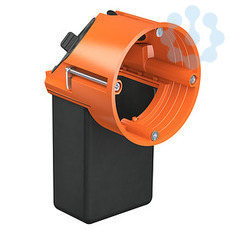 25 Stück Kaiser Hohlwand Gerätedose 9063-02 IP3X orange Decke Kunststoff