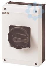 Выключатель нагрузки в корпусе 3P+N 63А запираемый P3-63/I4/SVB-SW/N черн. ручка EATON 207346 купить в интернет-магазине RS24