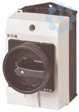 Выключатель нагрузки в корпусе 1п Ie=12А 0-1 90град. T0-1-8200/I1/SVB-SW черн. ручка EATON 207146 купить в интернет-магазине RS24