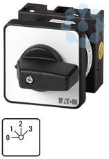 Переключатель ступенчатый 3п Ie=12А пол.0-3 45град. перед. креп. T0-5-15144/E EATON 014140 купить в интернет-магазине RS24
