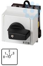 Переключатель ступенчатый 3п Ie=12А пол.0-3 45град. 45х45мм модульное исполнение T0-5-15144/IVS EATON 14142 купить в интернет-магазине RS24