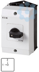 Переключатель кулачковый в корпусе 2п Ie=12А поз. 1-2 90град. 48х48мм T0-2-15442/I1 EATON 222605 купить в интернет-магазине RS24