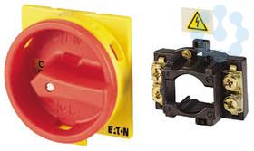 Комплект преобразования главных выключателей N+PE V/EA/SVB-T5 ручка для T5-/E-/Z красно-жел. EATON 045065