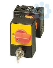 Переключатель кулачковый 3п 32А цилиндрический замок перед. креп. P1-32/E/SVA(S)-RT красн. ручка EATON 050971 купить в интернет-магазине RS24