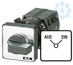 Выключатель 6п Iu=10А 1-2 пол. 90град. 30х30мм перед. креп. в отверстие 22мм TM-6-8370/EZ EATON 046130 купить в интернет-магазине RS24