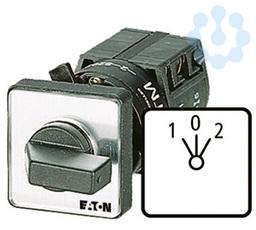 Выключатель 1п Iu=10А пол.2 > 0 <1 45град. 48х48мм перед. креп. в отверстие 22мм TM-1-8214/EZ EATON 016673 купить в интернет-магазине RS24