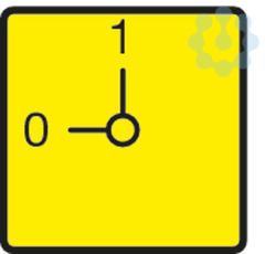 Панель передняя аварийный STOP жел. для P3 FS908GE-P3 EATON 31475 купить в интернет-магазине RS24