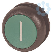 Головка кнопки с фикс. зел.; черн. лицевое кольцо M22S-DR-G-X1 EATON 216631 купить в интернет-магазине RS24