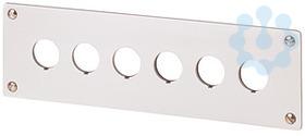 Лицевая панель для встроенного монтажа устанавливаемых элементов: 6 M22-E6 EATON 216547