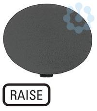 Шильдик кнопочный грибовидный поднимите M22-XDP-S-GB17 черн. EATON 218293 купить в интернет-магазине RS24