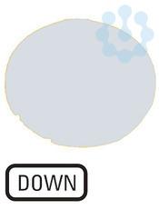 Линза в кнопки M22-XDL-W-GB4 с подсветкой плоская ВНИЗ бел. EATON 218332 купить в интернет-магазине RS24
