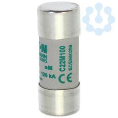 Предохранитель цилиндрический AM 22.2х58 100А боек EATON C22M100S купить в интернет-магазине RS24