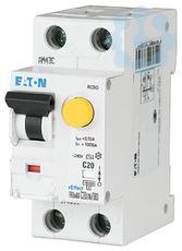 Выключатель автоматический дифференциального тока 2п (1P+N) C 13А 100мА тип AC 10кА FRBmM-C13/1N/01 EATON 170676 купить в интернет-магазине RS24