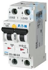 Выключатель авт. диф. тока 2п 10мА 20А FRBDM-C20/2/001-G/A цифровой EATON 168301 купить в интернет-магазине RS24