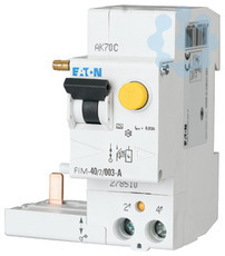 Выключатель диф. тока 2п 40/0.03А (AC/DC) 250А КЗ 10кА FIM-40/2/0.03-A EATON 278510