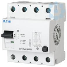 Выключатель дифференциального тока (УЗО) 4п 63А 500мА тип AC 10кА FI-63/4/05-A EATON 279224 купить в интернет-магазине RS24