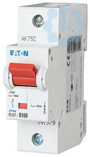 Выключатель автоматический модульный 1п D 100А 20кА PLHT-D100 EATON 247997 купить в интернет-магазине RS24