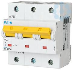 Выключатель автоматический модульный 3п C 125А 20кА PLHT EATON 248041 купить в интернет-магазине RS24