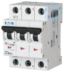 Выключатель автоматический модульный 3п B 3А 25кА FAZT-B3/3 EATON 240876 купить в интернет-магазине RS24