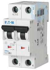 Выключатель автоматический модульный 2п D 3.5А 15кА FAZ-D3.5/2 EATON 278774 купить в интернет-магазине RS24