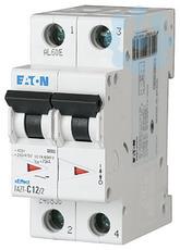Выключатель автоматический модульный 2п B 10А 25кА FAZT-B10/2 EATON 240825 купить в интернет-магазине RS24