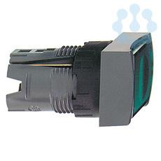 Кнопка прямоуг. с подсветкой зел. SchE ZB6DF3 купить в интернет-магазине RS24