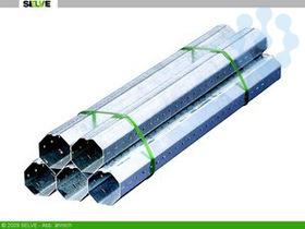 Achtkantstahlwelle für Rohrmotoren